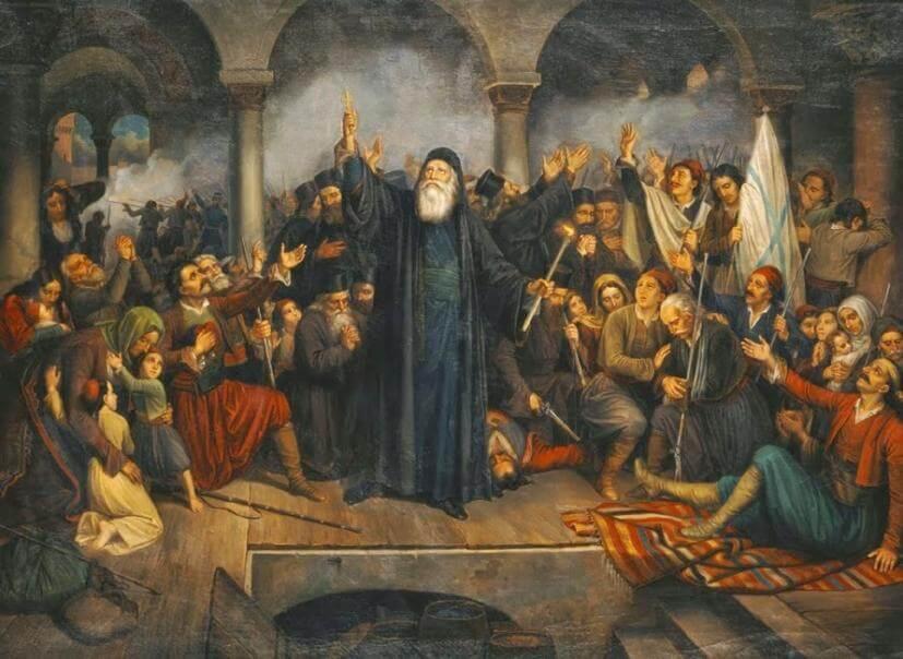 Άγιος Γρηγόριος Επίσκοπος Μεθώνης, εθνοϊερομάρτυρας   Κατάνυξη